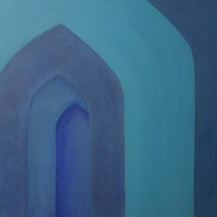 Arches 16 Acrylics on canvas, 100X70cm