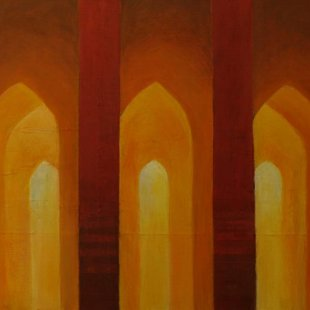 Arches 6 Acrylics on canvas, 80X60cm
