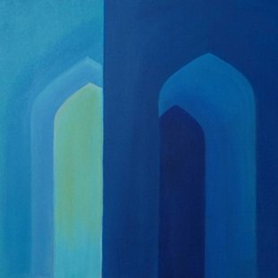 Arches 18 Acrylics on canvas, 100X70cm