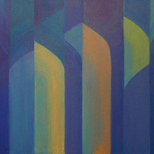 Arches 12 Acrylics on canvas, 100X70cm