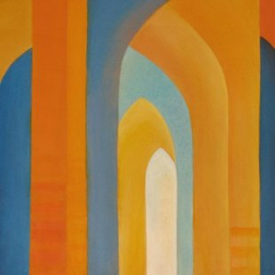 Arches 10 Acrylics on canvas, 80X60cm