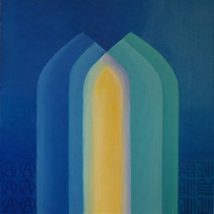 Arches 14/Dreaming of Harmony Acrylics on canvas, 70X70cm