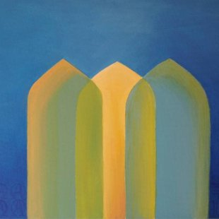 Arches 13/Dreaming of Harmony Acrylics on canvas, 100X70cm