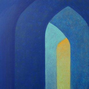 Arches 9 Acrylics on canvas, 70X50cm