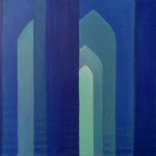 Arches 11 Acrylics on canvas, 100X70cm