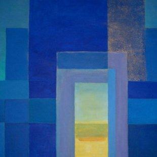 Arches 5 Acrylics on canvas, 80X60cm