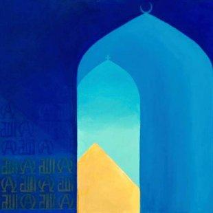Arches 17/Toward the One Acrylics on canvas, 100X70cm