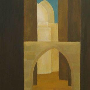 Old Cairo 1 Acrylics on canvas, 70X100cm