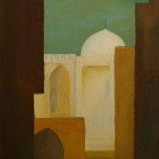 Old Cairo 2 Acrylics on canvas, 80X120cm