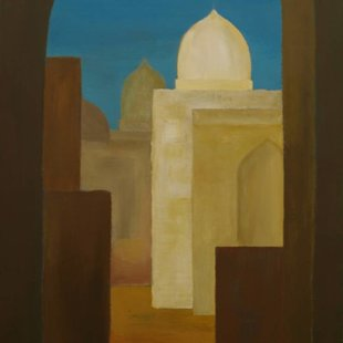 Old Cairo 3 Acrylics on canvas, 70X100cm
