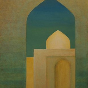 Old Cairo 5 Acrylics on canvas, 70X100cm