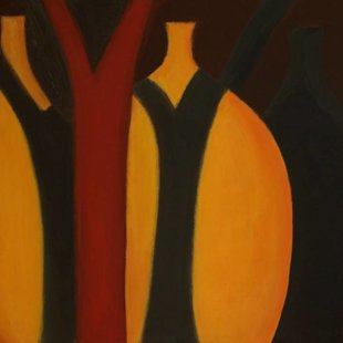 Vessels of Hope 1 Acrylics on canvas, 100X70cm. Sold